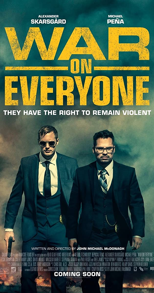 Subtitle of War on Everyone