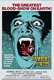 Vampire Circus(1972) Poster - Movie Forum, Cast, Reviews