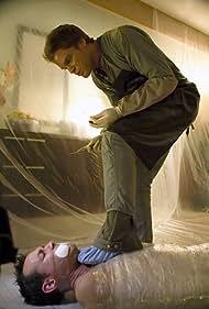 Michael C. Hall and Larry Sullivan in Dexter (2006)