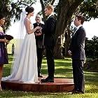 Mandy Moore, Michael Weston, Jessica Szohr, Kellan Lutz, and Bob Edes in Love, Wedding, Marriage (2011)