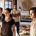 Trevor Einhorn, Jade Tailor, Arjun Gupta, and Jason Ralph in The Magicians (2015)