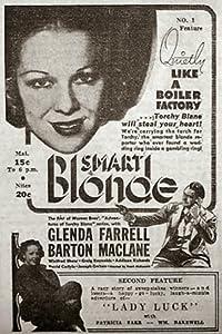 Latest movies 3gp download Smart Blonde Frank McDonald [1280x544]