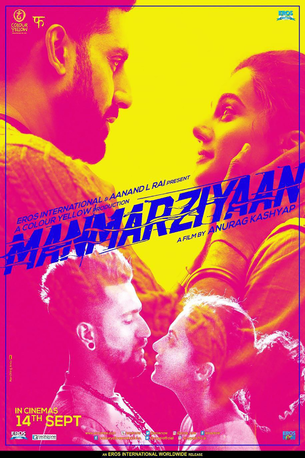 Image result for manmarziyan poster