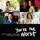 Chris Geere, Kether Donohue, Aya Cash, and Desmin Borges in You're the Worst (2014)