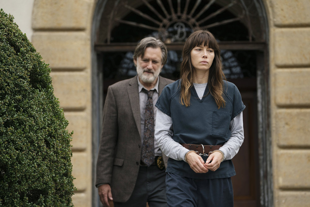 Bill Pullman and Jessica Biel in The Sinner (2017)