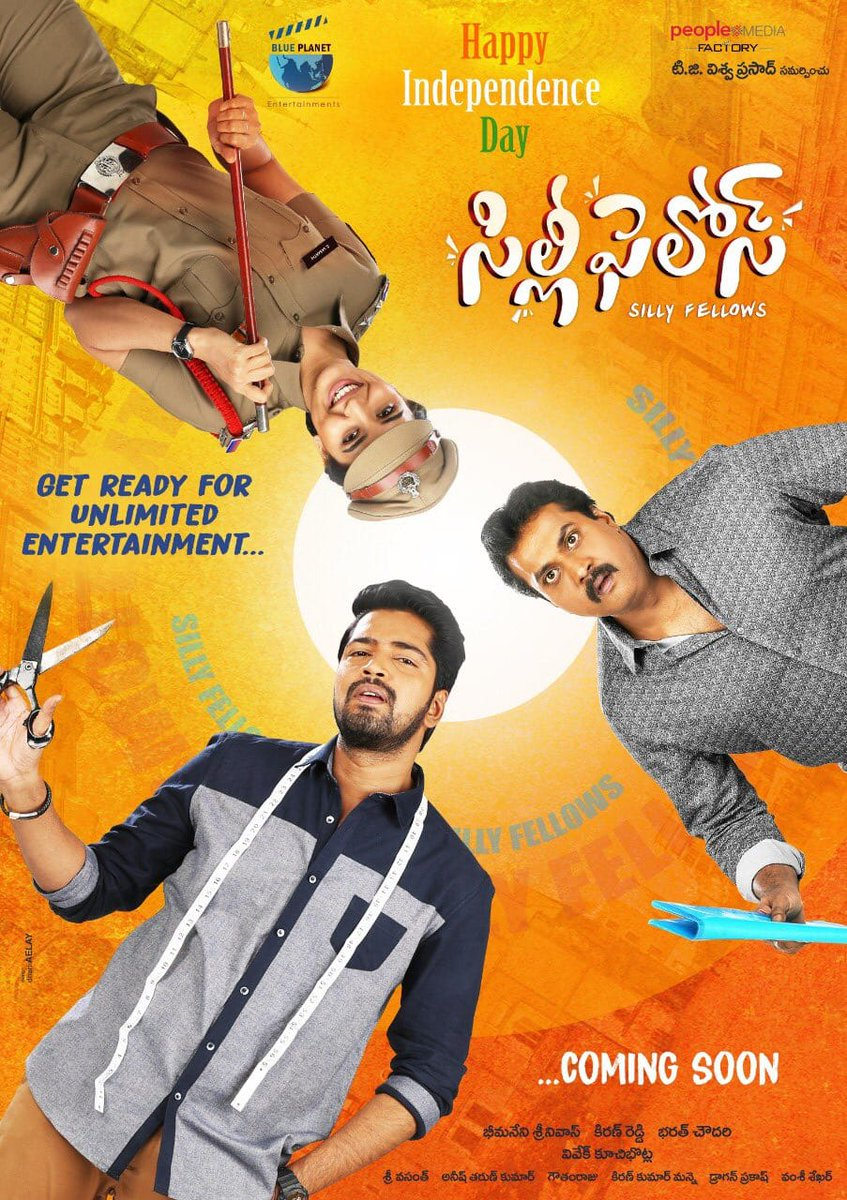 Silly Fellows (2018) Hindi Dubbed 720p HDRip 800MB Download