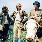 Jirí Korn, Václav Lohniský, and Mirko Musil in Honza málem králem (1977)
