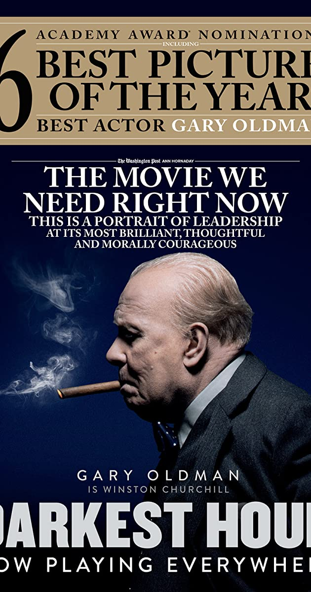 Subtitle of Darkest Hour