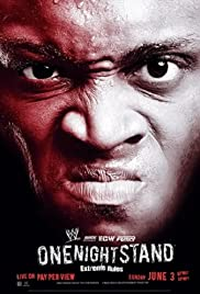 WWE One Night Stand(2007) Poster - TV Show Forum, Cast, Reviews
