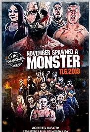 Bar Wrestling 46: November Spawned A Monster Poster