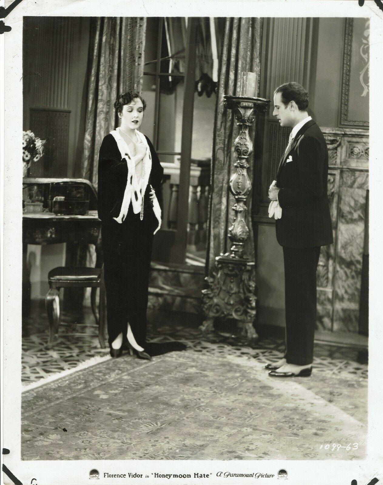 Tullio Carminati and Florence Vidor in Honeymoon Hate (1927)