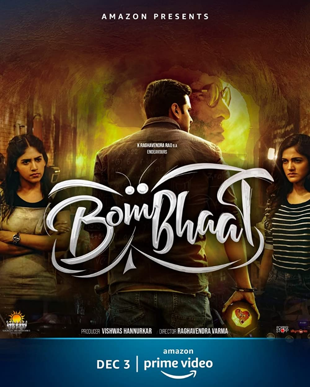 Bombhaat 2020 Telugu Movie 480p HDRip 400MB ESub x264 AAC