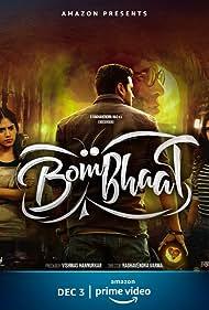 Sai Sushanth Reddy, Chandini Chowdary, and Simran Choudhary in BomBhaat (2020)