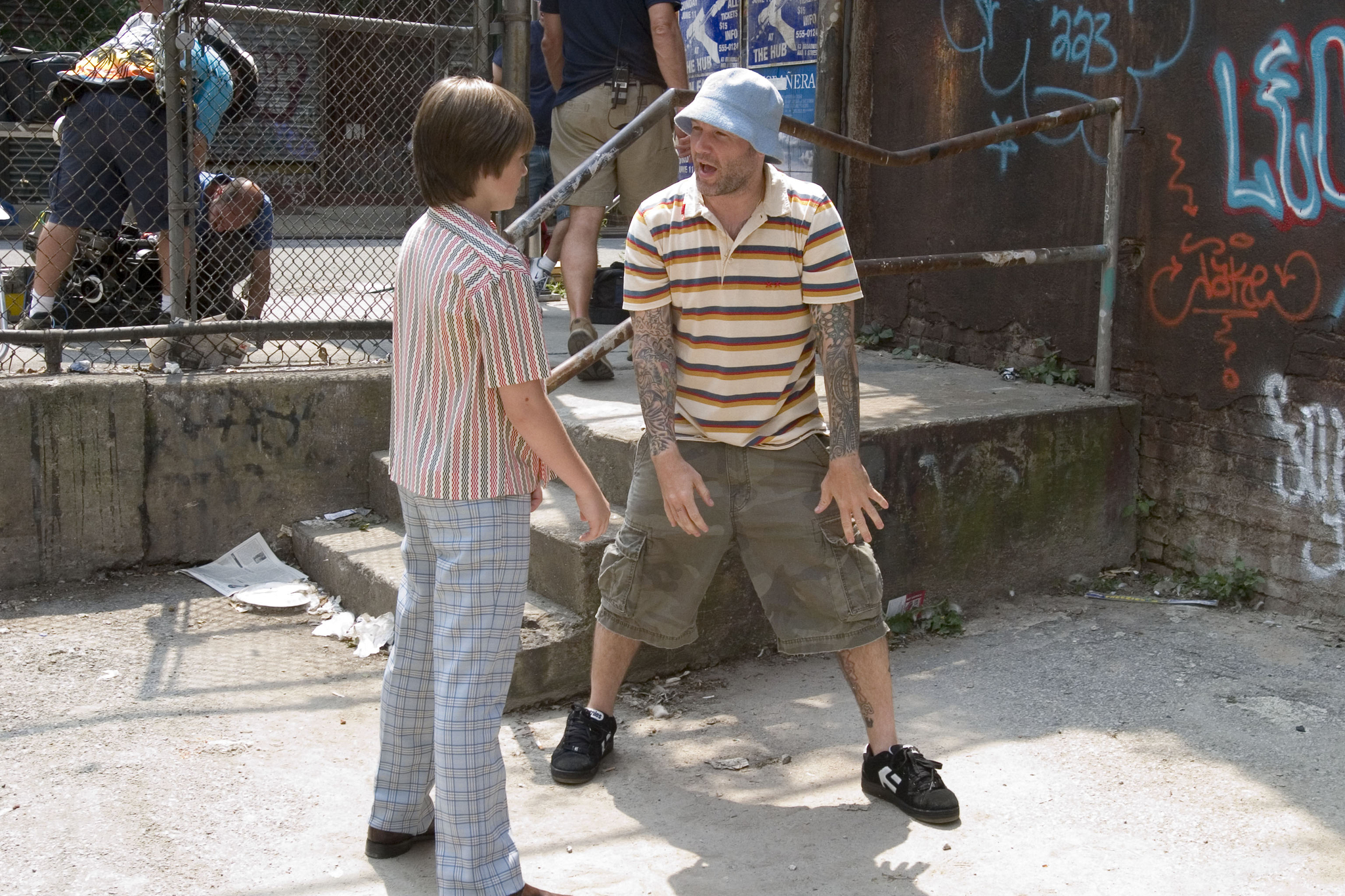 Fred Durst and Miles Chandler in The Education of Charlie Banks (2007)