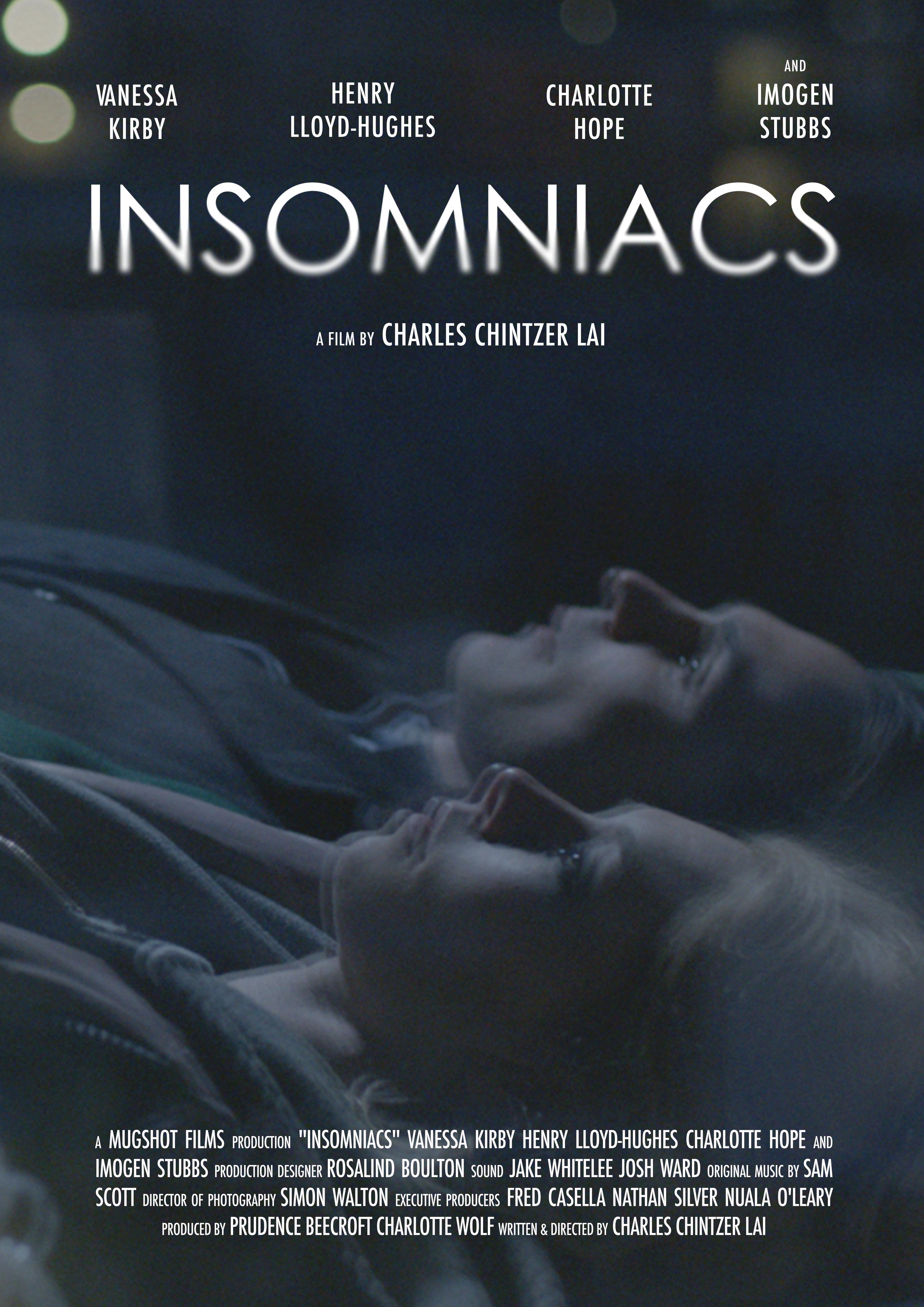 Henry Lloyd-Hughes and Vanessa Kirby in Insomniacs (2014)