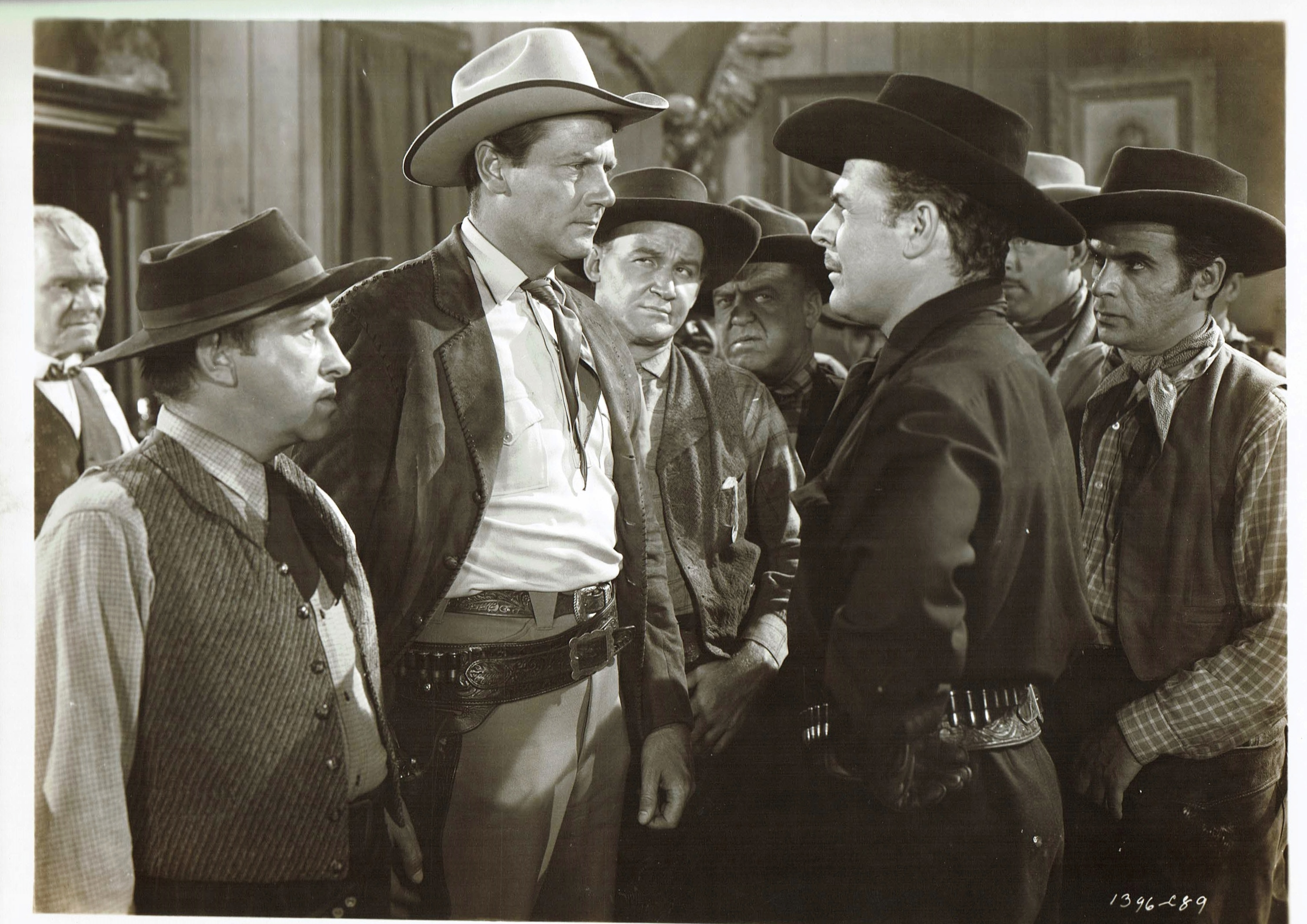 Brian Donlevy and Joel McCrea in The Great Man's Lady (1941)