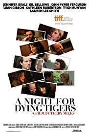 A Night for Dying Tigers Poster