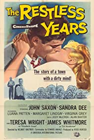 Sandra Dee and John Saxon in The Restless Years (1958)