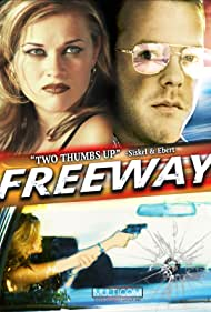 Kiefer Sutherland and Reese Witherspoon in Freeway (1996)