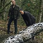 Jonathan Tucker and Riann Steele in Debris (2021)