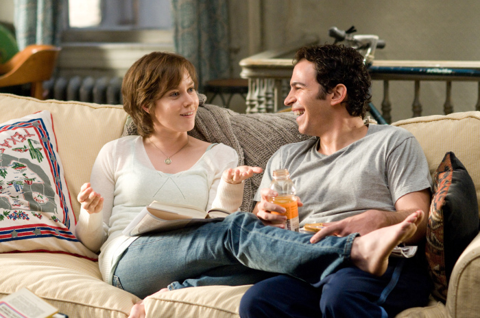 Amy Adams and Chris Messina in Julie & Julia (2009)