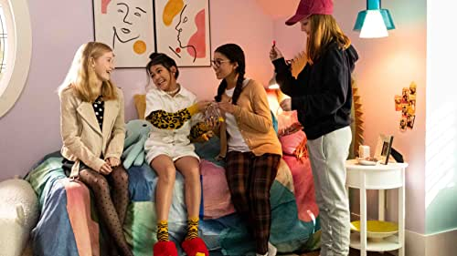 """""""The Baby-Sitters Club"""" follows the friendship and adventures of Kristy Thomas (Sophie Grace), Mary Anne Spier (Malia Baker), Claudia Kishi (Momona Tamada), Stacey McGill (Shay Rudolph), and Dawn Schafer (Xochitl Gomez) as the middle-schoolers start their babysitting business in the town of Stoneybrook, Connecticut."""
