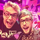 Bobby Lockwood and Iain Stirling in The Dog Ate My Homework (2014)
