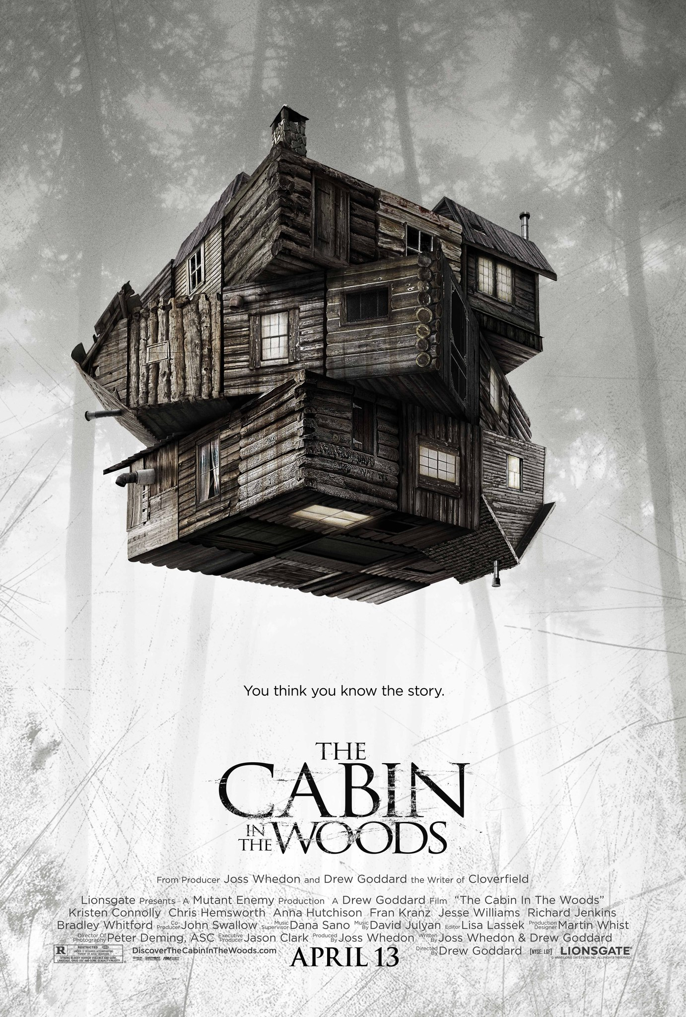 Image result for cabin in the woods 2011