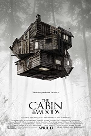 Image for the movie, The Cabin in the Woods