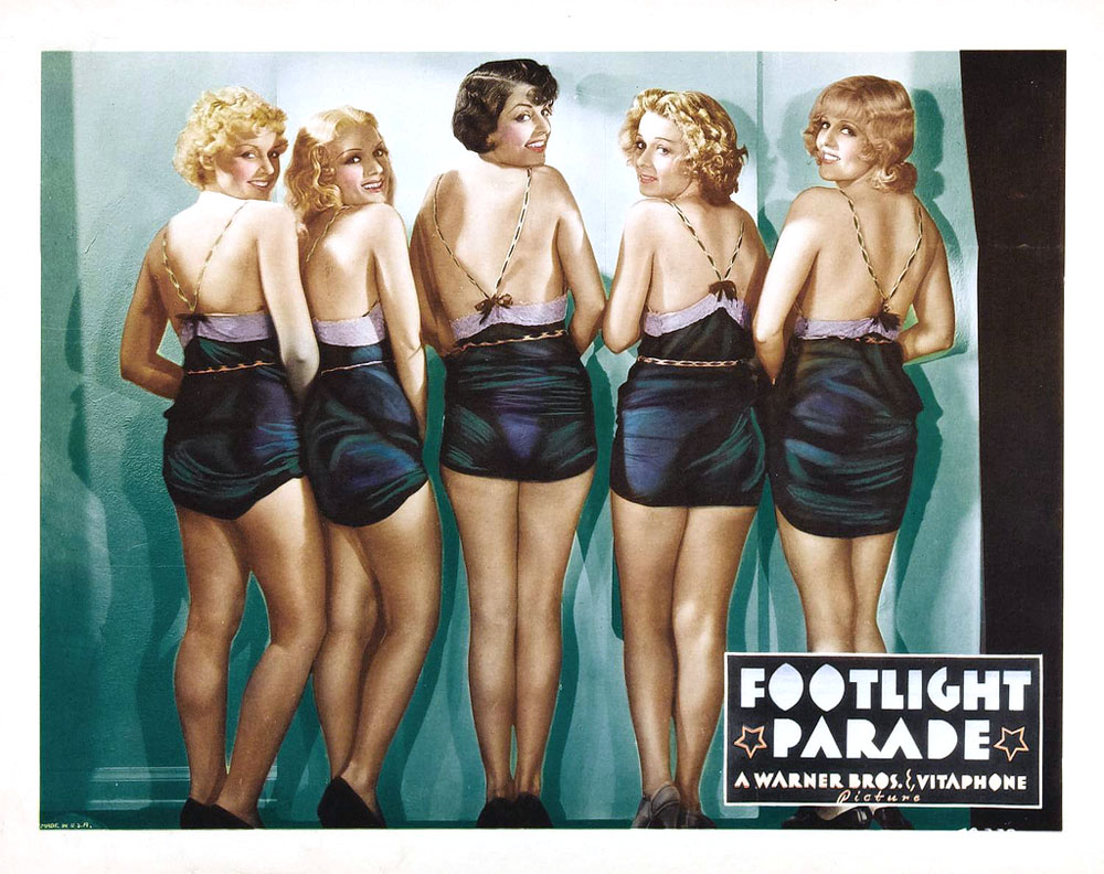 Claudia Drake, Marlo Dwyer, Patsy Farnum, Patricia Farr, and Pat Fara in Footlight Parade (1933)