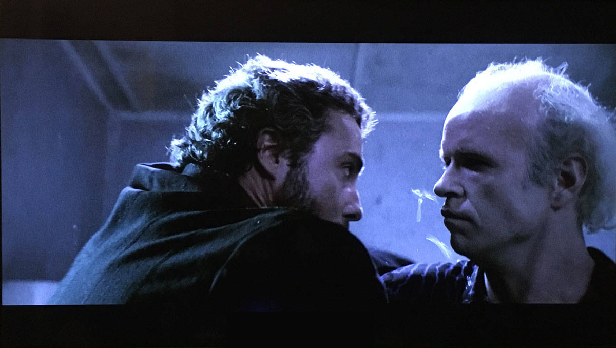 Tom Noonan and William Petersen in Manhunter (1986)