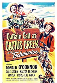 Curtain Call at Cactus Creek Poster