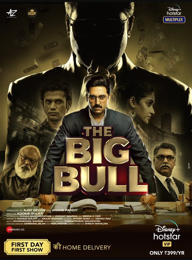 The Big Bull (2021) Hindi Movie Official Trailer 1080p HDRip Download