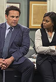 Kevin Chapman and Taraji P. Henson in Person of Interest (2011)