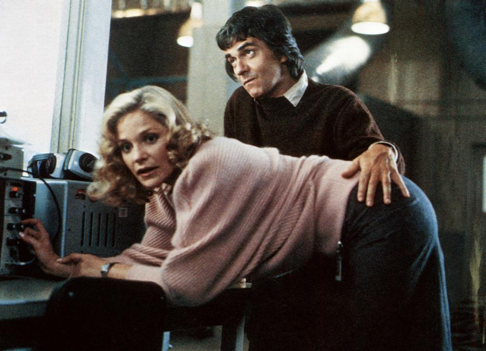 Dudley Moore and Helen Shaver in Best Defense (1984)