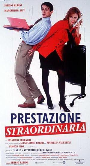 poster Prestazione straordinaria