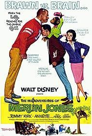 The Misadventures of Merlin Jones (1964) Poster - Movie Forum, Cast, Reviews