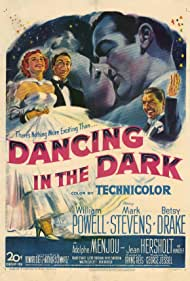 William Powell, Betsy Drake, and Mark Stevens in Dancing in the Dark (1949)