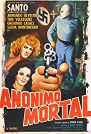 Santo in Anonymous Death Threat Poster