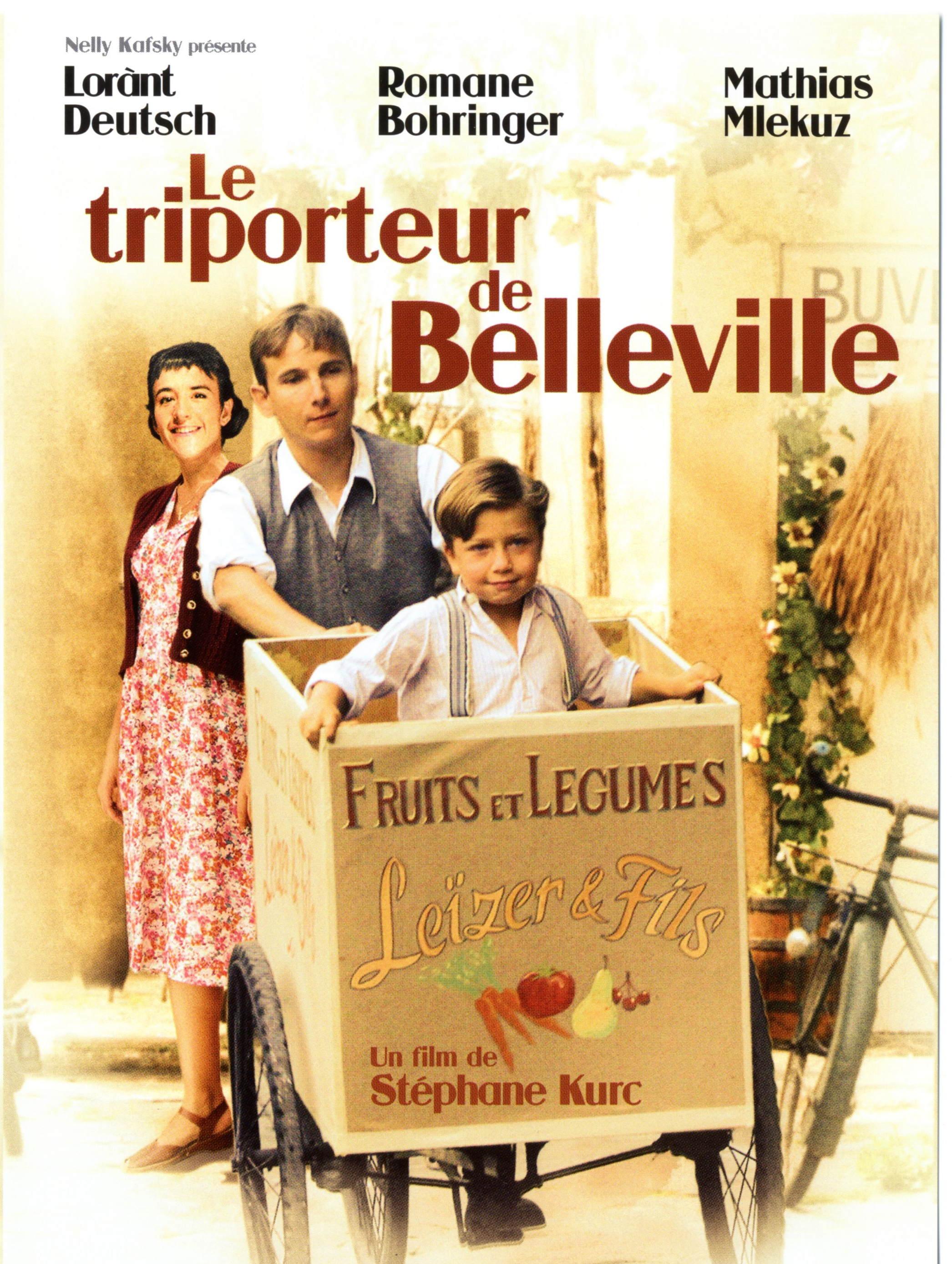 film le triporteur de belleville