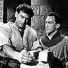 Conrad Phillips and Patrick Troughton in William Tell (1958)