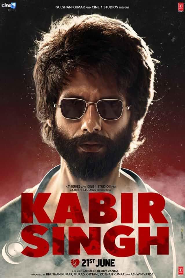 Shahid Kapoor in Kabir Singh (2019)