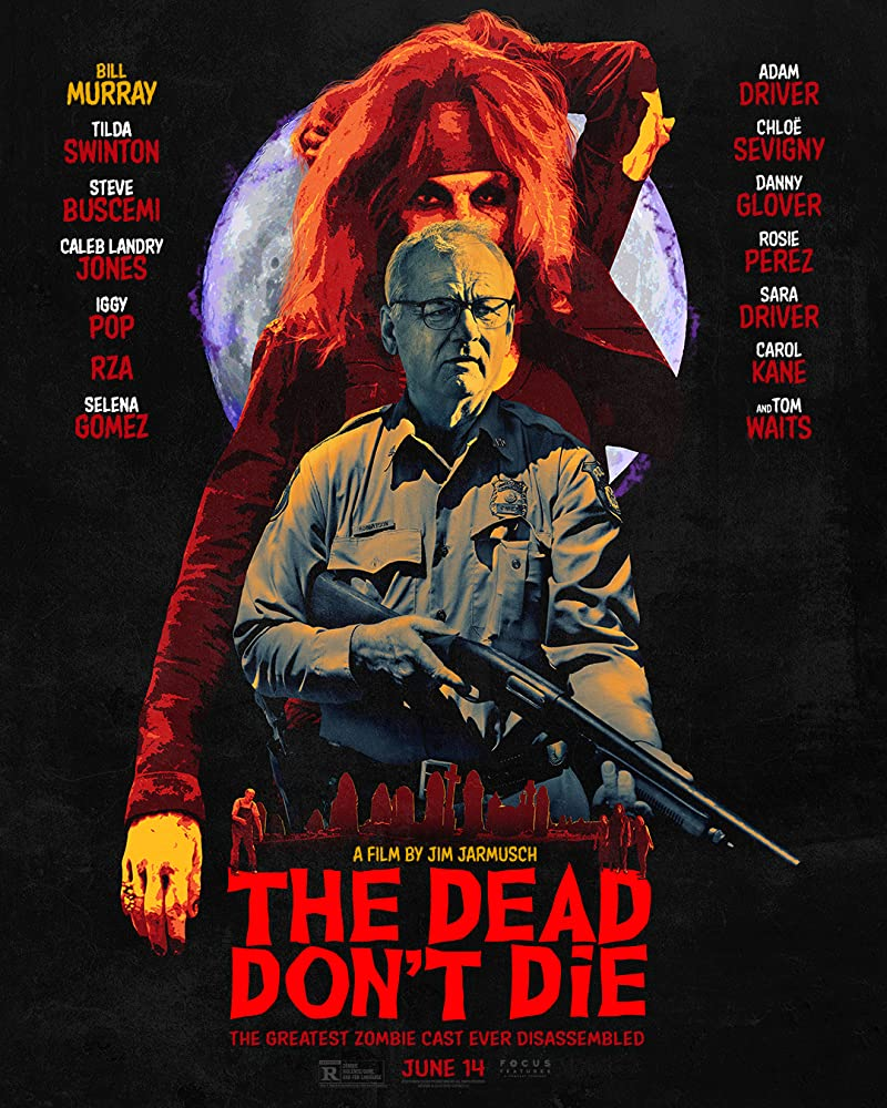 Bill Murray and Sara Driver in The Dead Don't Die (2019)