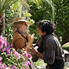 Tilda Swinton and Dev Patel in The Personal History of David Copperfield (2019)
