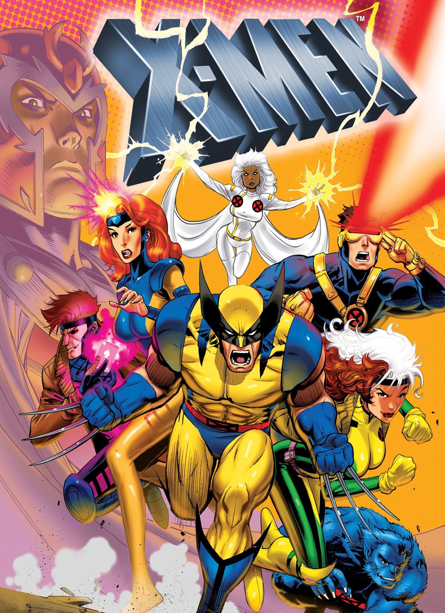 X-Men Animated Series - X-Men - Night of the Sentinels: Part 1 (1992) Season 1 ~ Season 5