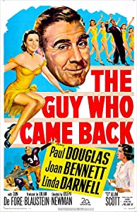 Best site for downloading movie subtitles The Guy Who Came Back USA [hdrip]