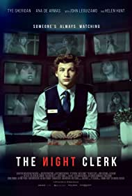 Ana de Armas and Tye Sheridan in The Night Clerk (2020)