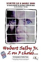 Hubert Selby Jr., 2 ou 3 choses...