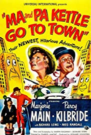 Ma and Pa Kettle Go to Town Poster