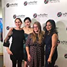 Sally Karam, Julia Sarah Stone, Rama Rau, and Michelle McLeod at an event for Honey Bee (2018)